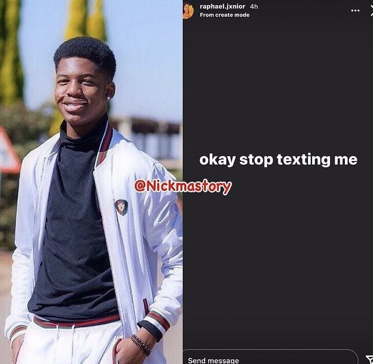 """""""Stop texting me"""" Zari Hassan's son screams after online 'uncles' allegedly jump into his DM"""
