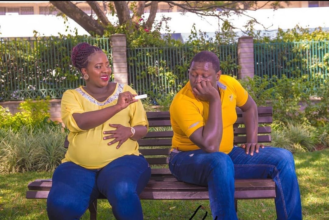 Comedian Terence creative and wife, Milly Chebby expecting baby number 2!