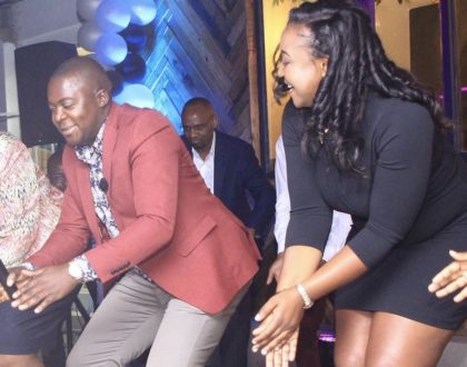 Photos: How Betty Kyallo's 'After Shave' high-end barbershop launch went down