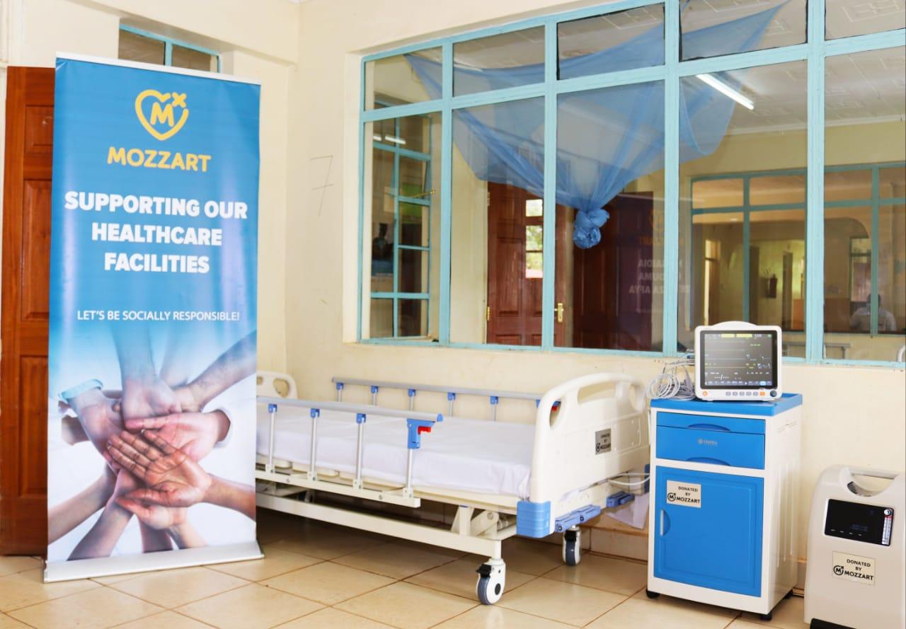 Mozzart donates ICU equipment worth Ksh 1.5m to Rachuonyo County Hospital in Homa Bay County