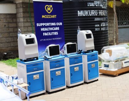 It is time for Mukuru Health Center! Mozzart makes a mark with Ksh 1.5m worth of essential ICU equipment in donations to the facility