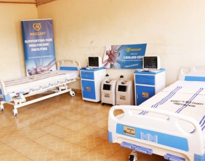Mozzart donates ICU equipment worth Ksh 1.5 million to Nyamache Sub County Referral Hospital in Kisii County