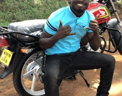 'Raundi Hii Mtakula Nyasi' Mulamwah Warns Thieves Who Stole His Motorbike After Buying A New One