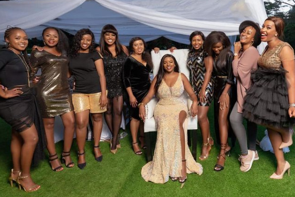 Here's How Muthoni Mukiri's Friends Surprised Her With A Lavish Birthday Party (Photos)