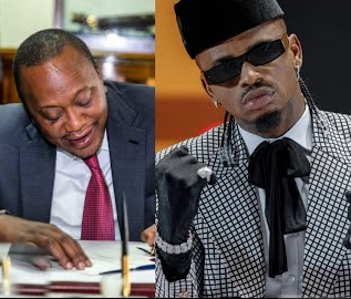 Pesa Otas! Diamond Platnumz Earns More In A Week Than Uhuru's Monthly Salary