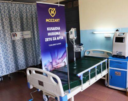 Mozzart donates ICU equipment worth Ksh 1.5 million to Dandora 2 Health Center in Nairobi