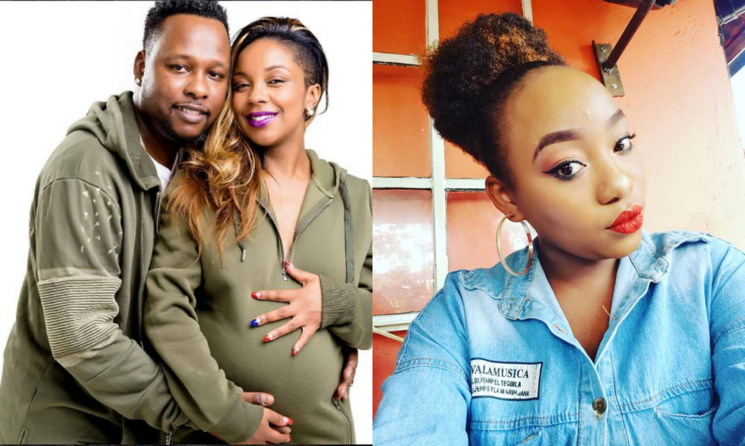 Side chick linked to Marya's ex husband unveils video showing bruises received after serious beating