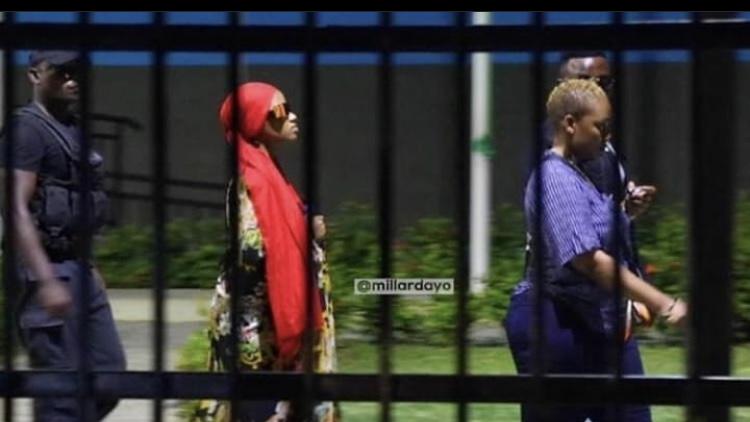 Paulah Kajala at her court appearance