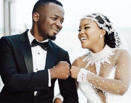 Wedding album: Photos of actress Elizabeth 'Lulu' Micheal's wedding dress that has left East Africans talking