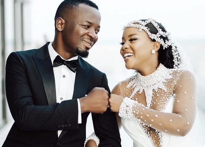 Wedding album: Photos of actress Elizabeth 'Lulu' Micheal's wedding dress that has left East Africans talking