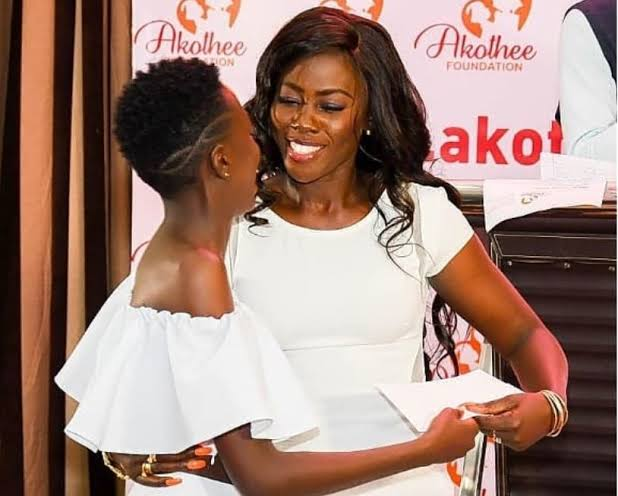 Akothee's eldest daughter, Rue spends night in police custody (videos)