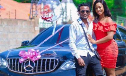 Hio Gari Ni Ya Ku Hire! Here's Why Netizens Doubt Diana Marua's Mercedes Benz Gift To Bahati