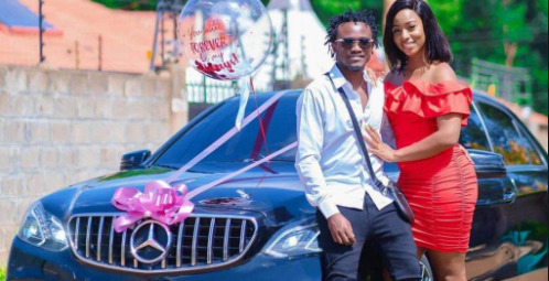 Hio Gari Ni Ya Ku Hire! Here's Why Netizens Doubt Diana Marua's Mercedes Benz Gift To Bahati