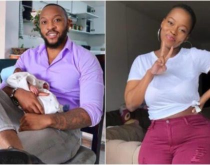 A Chip Off The Old Block-Corazon Kwamboka Flaunts Her Cute Son Who Looks Like His Dad