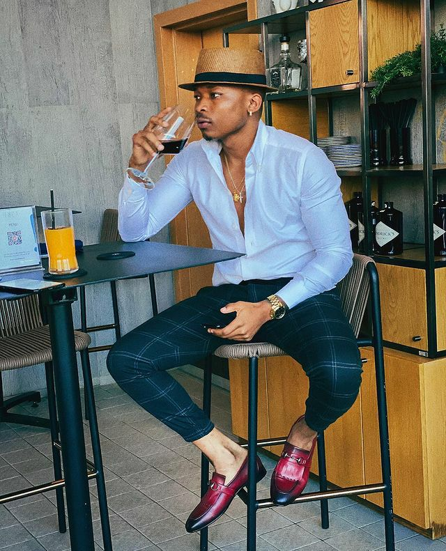 Otile Brown has invested in an image consultant and we love it