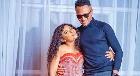Endless Blessings! DJ Mo And Size 8 Build Luxurious House For Their Parents (Video)