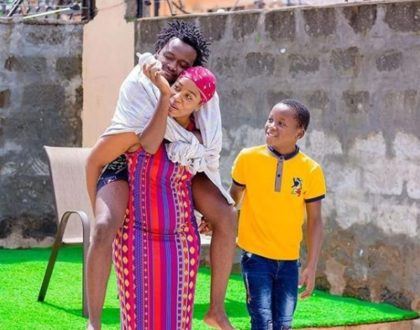 'As An Orphan I always Wished I had Someone to Call Mum' Bahati Explains Why He Accepts Being Called Mtoto Wa Diana