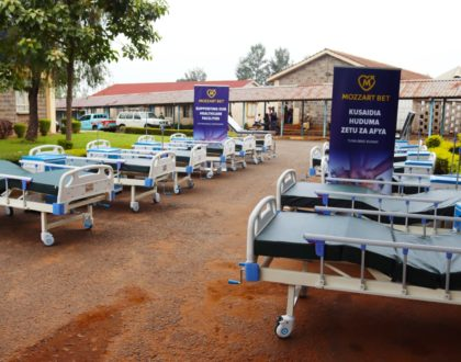 Mozzart presents the perfect Valentine's Day gift by donating medical equipment worth Ksh 3M to Vihiga County Referral Hospital
