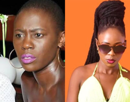 Separated at birth? Meet Akothee's alleged sister that will leave you wondering whether they are twins (Photos)