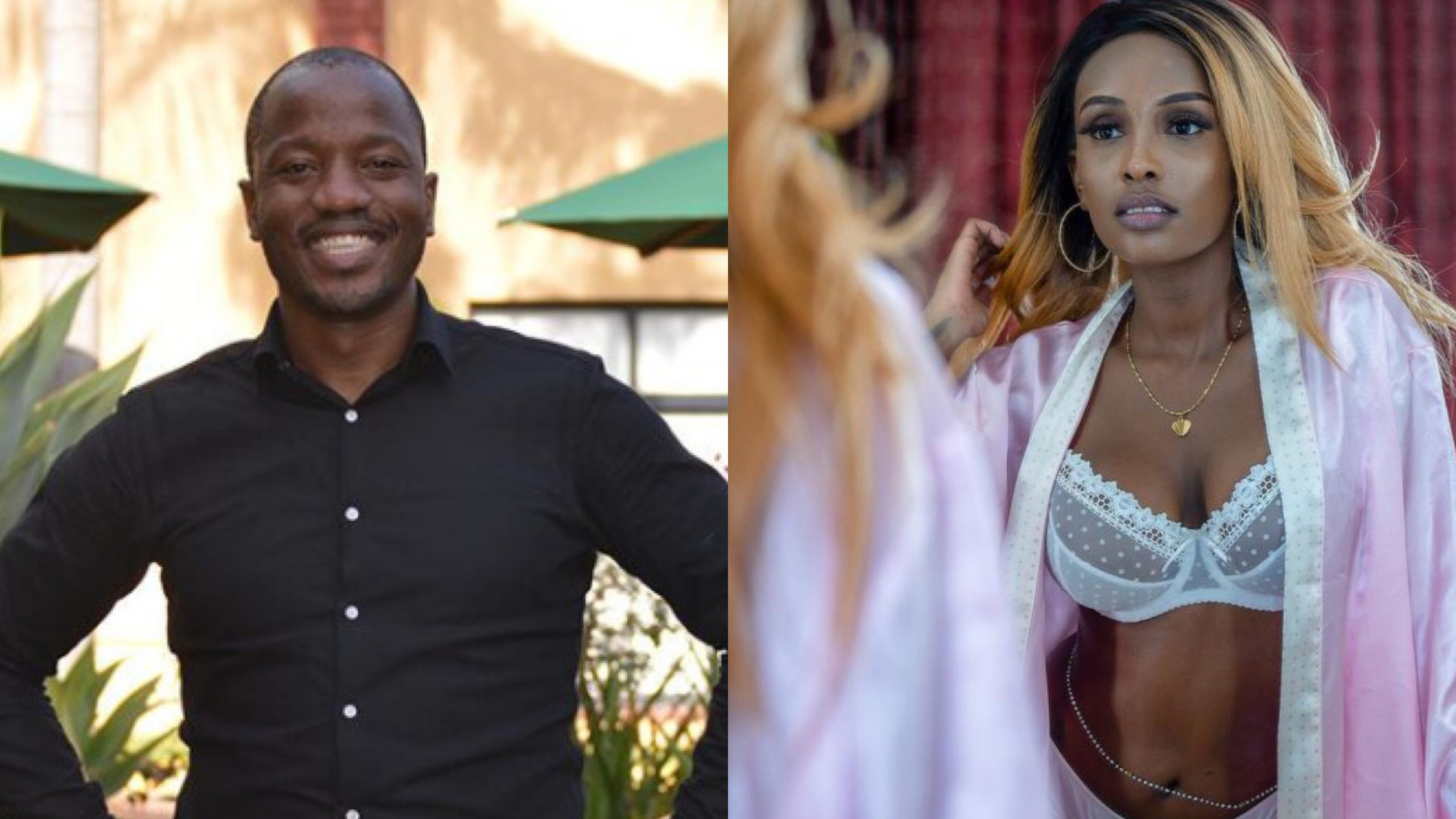 Priceless: Tony Kwalanda's reaction after Switch TV's Joyce Maina publicly calls off engagement (Video)