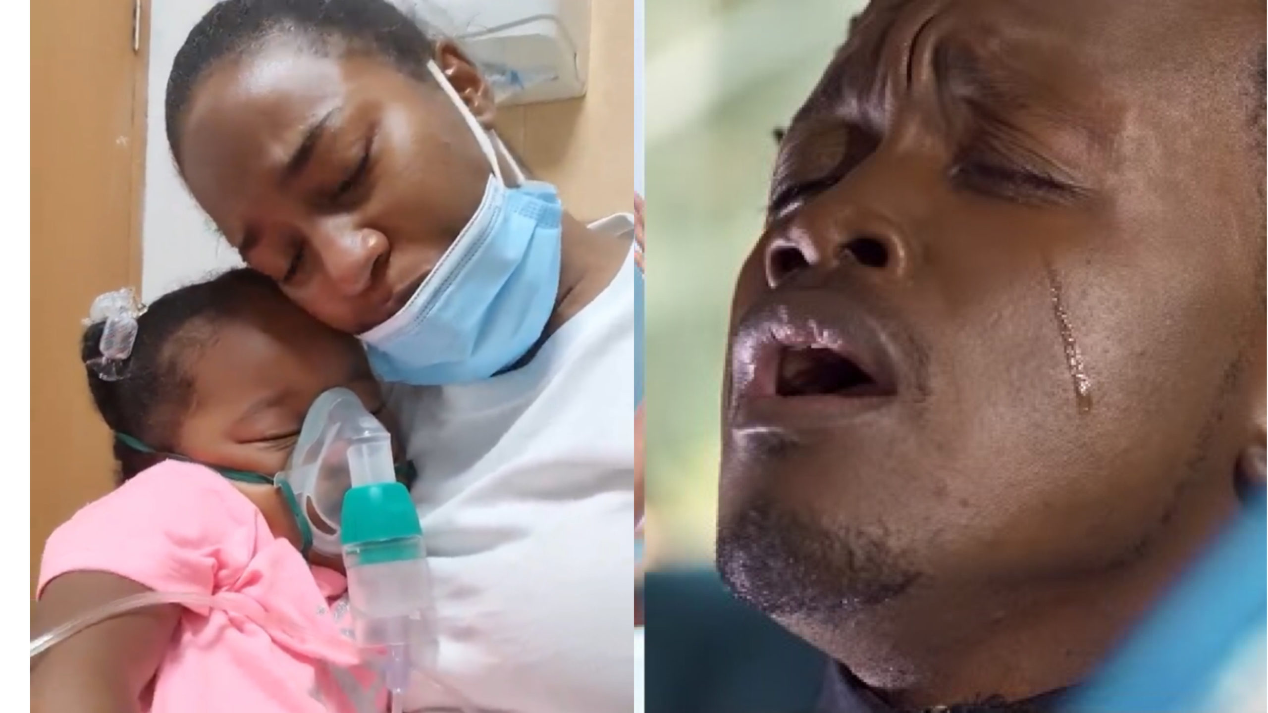 """""""Weh tafuta content ingine"""" Fans blast Bahati for clout chasing using daughter's illness"""