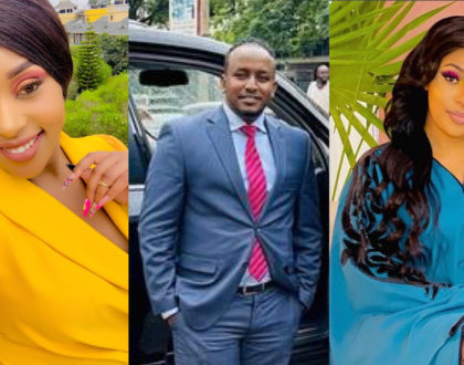 Weuh! Amber Ray's reaction after bae, Jamal Roho safi publicly defends her from 1st wife, Amira
