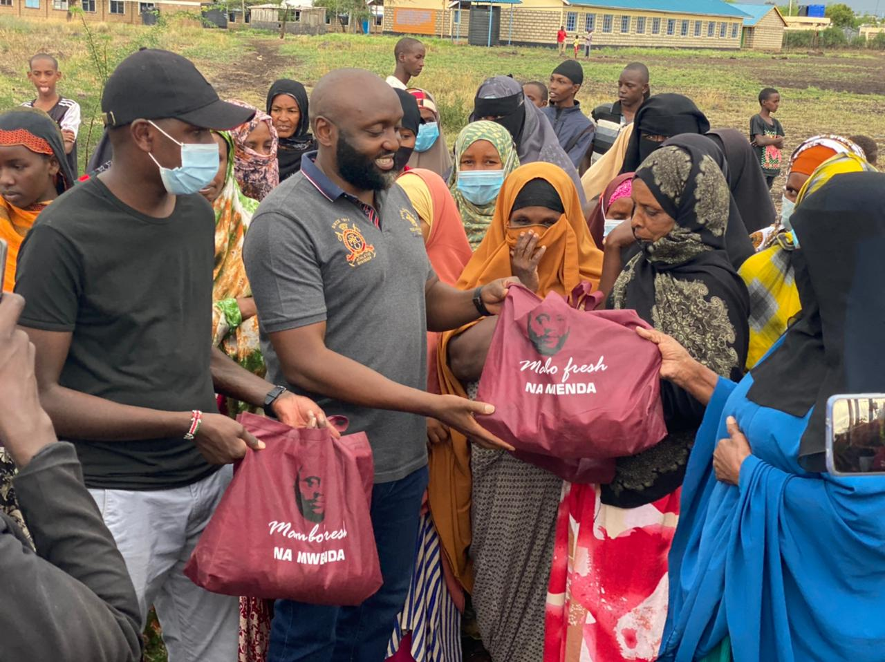 Philanthropist Mwenda Thuranira puts smiles on faces of Isiolo residents on Mother's Day