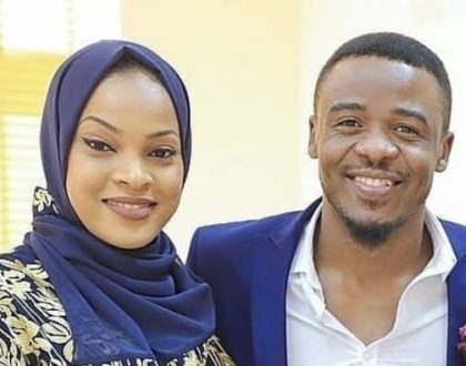 Alikiba's Kenyan wife shares photo of her new second born son!