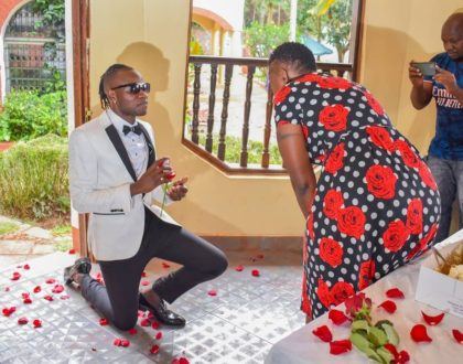 """""""I'm still in awe"""" 51 year old Esther Musila reveals after boyfriend, Guardian Angel proposed"""