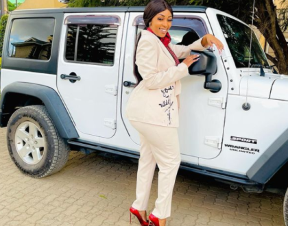 'Nilitupa Mbao' Amber Ray Reveals How Her Love For Big Cars Cost Her Marriage (Screenshot)