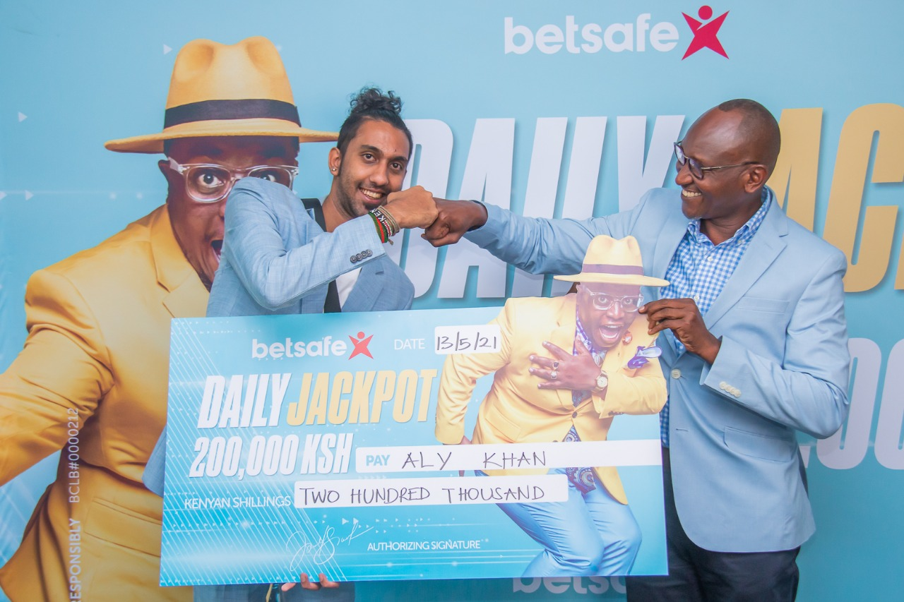 The Betsafe Daily Jackpot has been won on the eve of the Middle Jackpot Launch