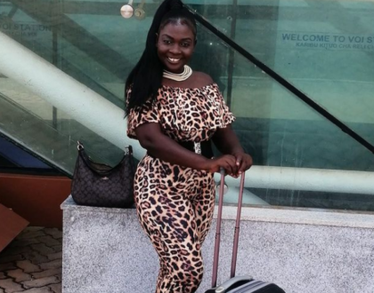 Mapenzi! Nyota Ndogo Packs Her Bags, Leaves The Country In Quest Of Her Hubby
