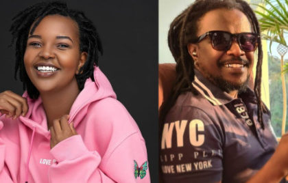 Nyashinski's Wife Zia Opens Up On Why They Keep Family Off Social Media
