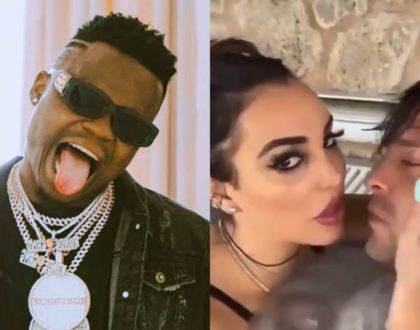 """""""Wooi aki rudia bibi"""" Fans plead with Harmonize after mzungu ex wife is caught on camera forcing herself on new lover (Video)"""