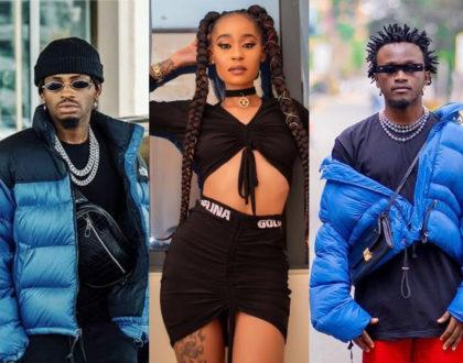 """""""Moja ni luku mbwakni"""" Noti Flow reacts after stylist attempted to dress Bahati like Diamond Platnumz"""