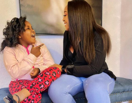 'I Love And Cherish You' Betty Kyallo's Message As She Celebrates Daughter's 7th Birthday