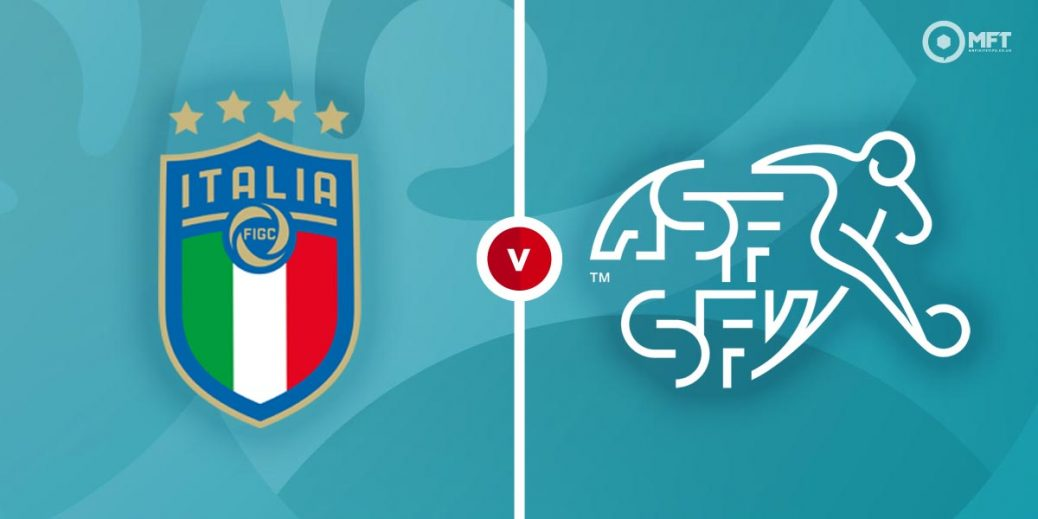 The Azzuri seeks passage to the Euro 2020 Knock-Out Stages as they face Switzerland in a difficult match