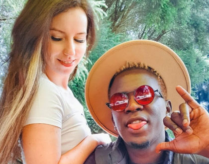 'You've Never Stressed Me' Willy Paul Gushes Over His Mzungu Baby Mama (Video)
