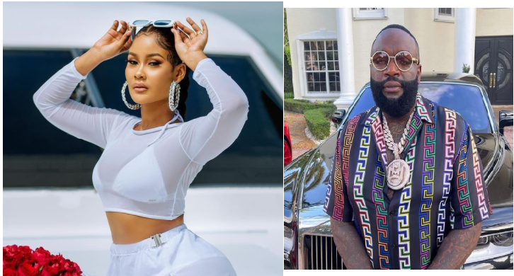 Shemeji Wetu! Fans React As Rick Ross Continues To Show Interest In Hamisa Mobetto