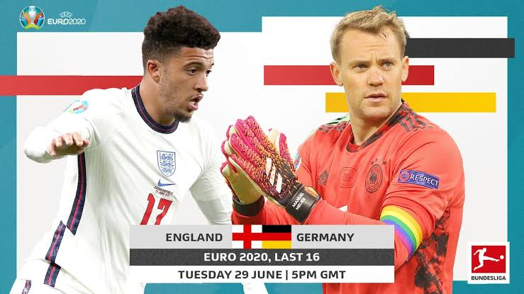 England wary of stealthy Germany as the path to the Euro 2020 quarter-finals gets narrower and trickier!