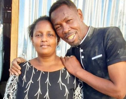 Omosh reveals how his begging stunt has improved relationship between his two wives