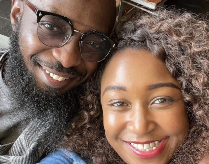 Couple Goals! Never seen before photos of Betty Kyallo and hunk boyfriend, Nick Ndeda together