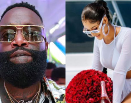 Hamisa Mobetto and Rick Ross jet into Dubai for 'private' meeting (Photos)