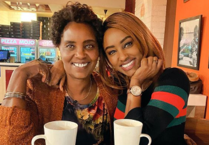 'She's Got A Heart Of Gold'- Michelle Ntalami Celebrates Her Mum's Birthday With Elating Message