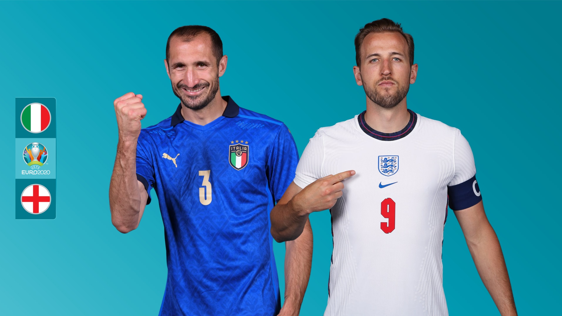 Will the Euro 2020 Final on Sunday be England's 7th successive loss against Italy?