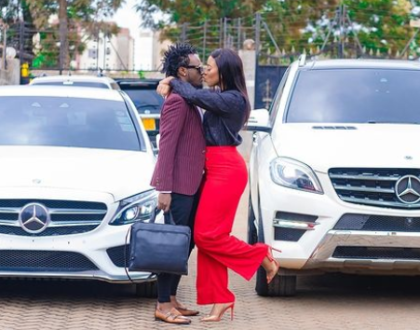 Bahati Gifts Diana Marua A Brand New Mercedes Benz (Video)