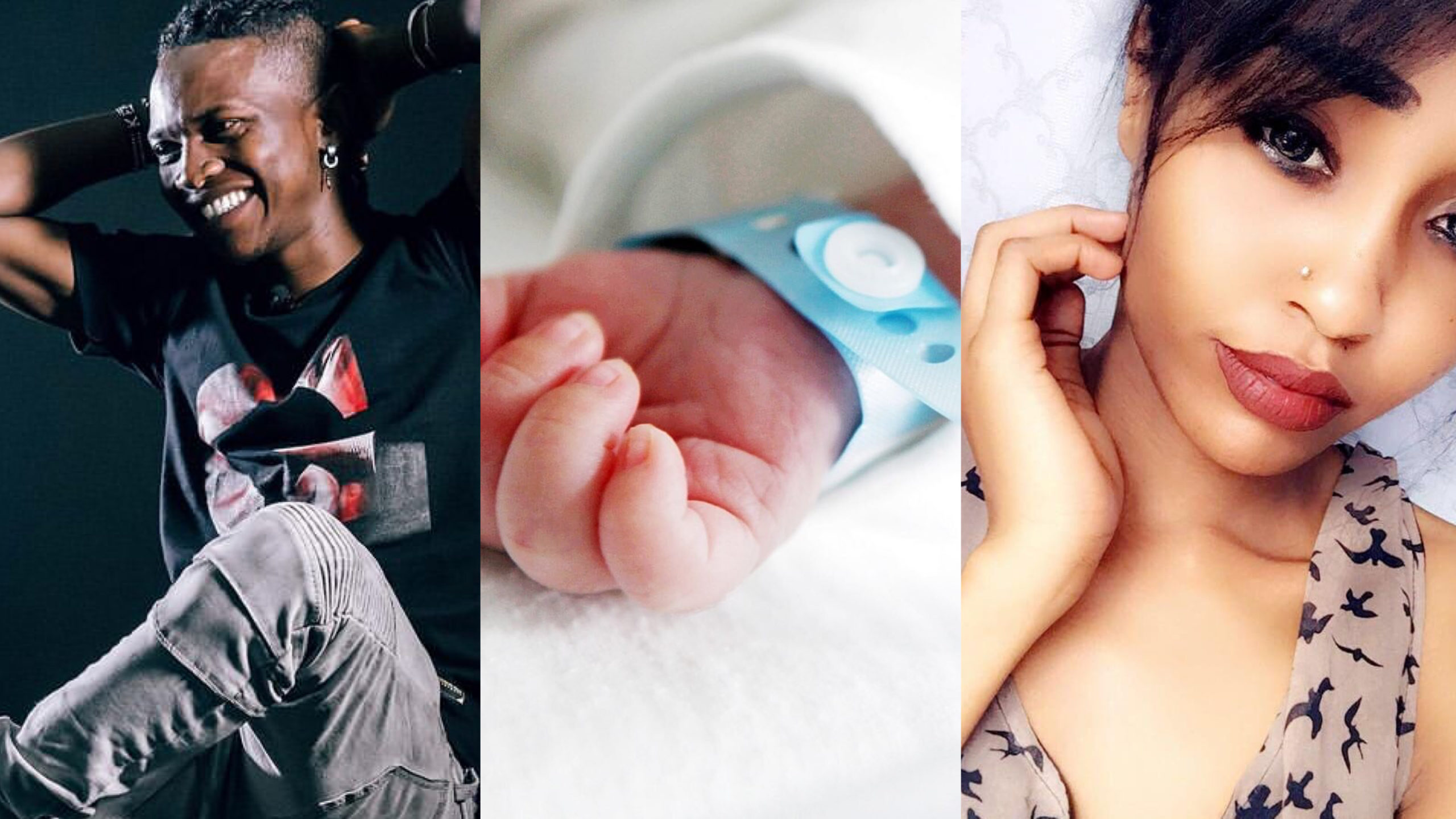 Mr Seed and 'side chick' welcome bouncing baby boy! (Photos)