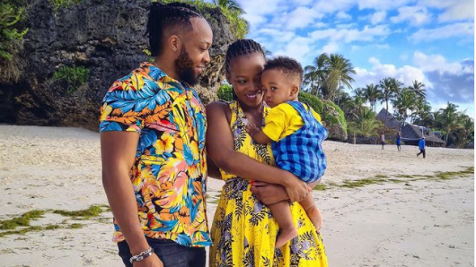 Corazon Kwamboka Narrates How Frankie's Experience As A Dad Helped Her In Raising First Bon Son