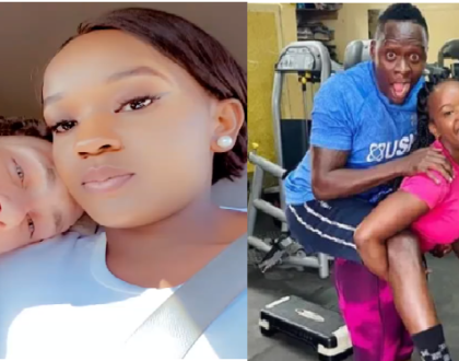 'I'm Happy With My New Man'-Sherlyne Anyango Warns Fans Against Reminding Her Of Ex-Boyfriend Obinna
