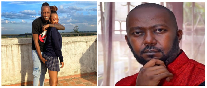 Xtian Dela Responds To Andrew Kibe For Criticizing Him On Posting Girlfriend's Pregnancy- Fans React Savagely